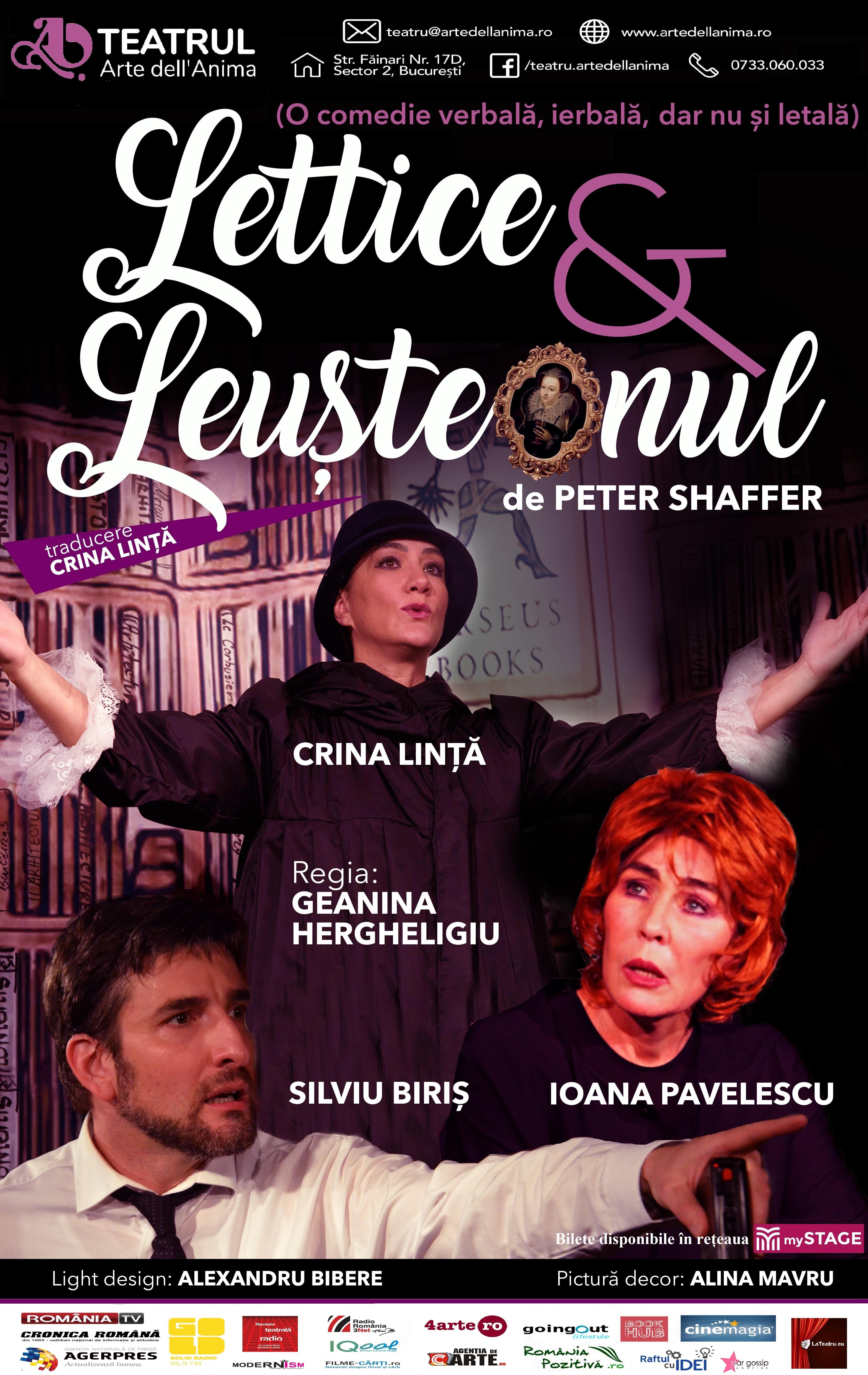 Lettice și Leușteanul afis
