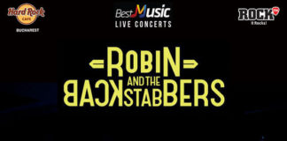 Robin And The Backstabbers concert aprilie 2019