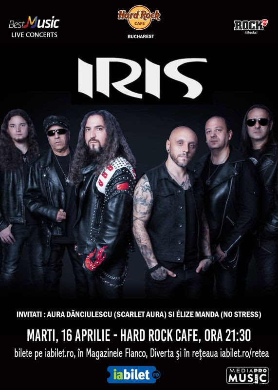Concert IRIS Hard Rock Caffee