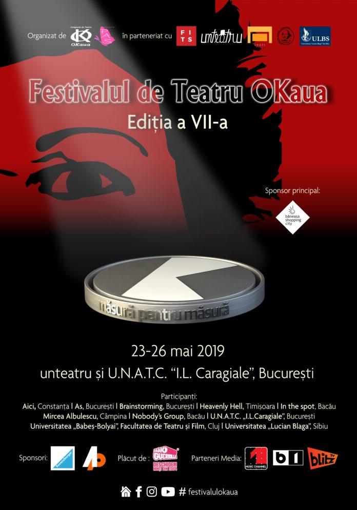afis Festivalul de Teatru OKaua