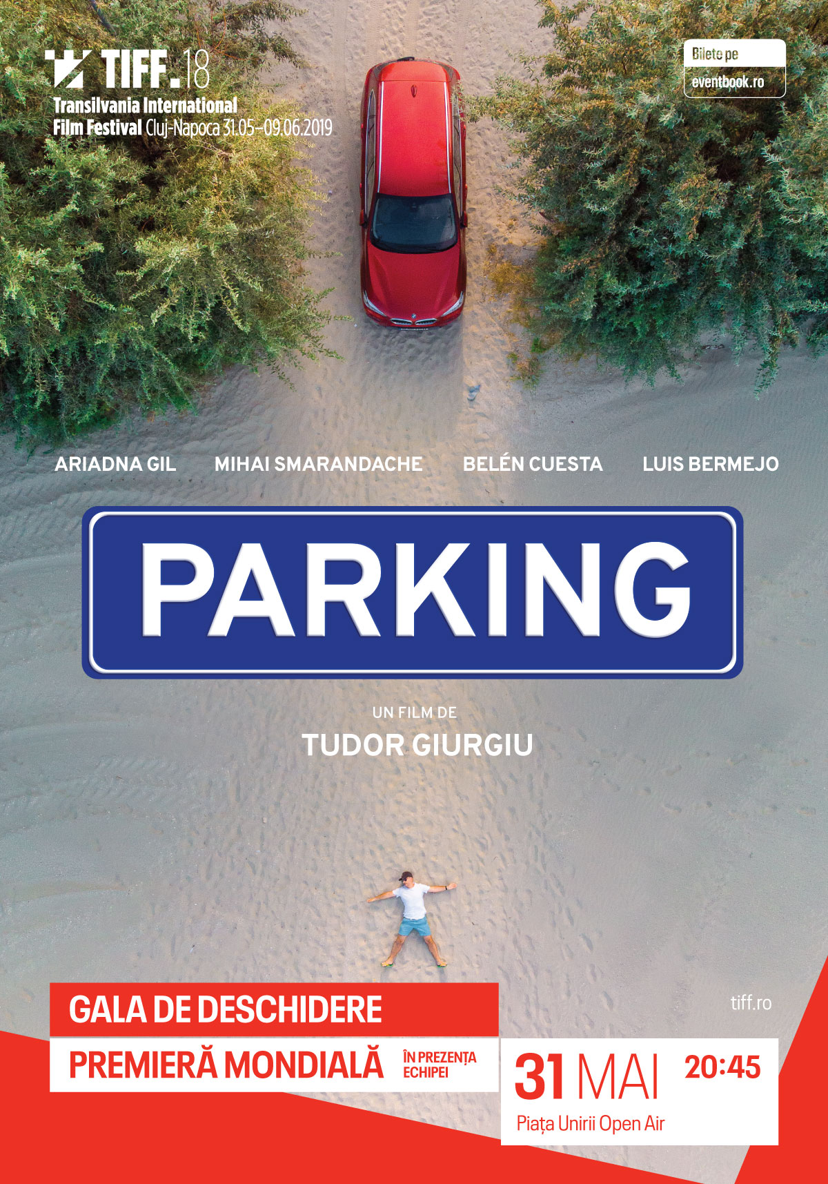 Parking R. Tudor Giurgiu afiș