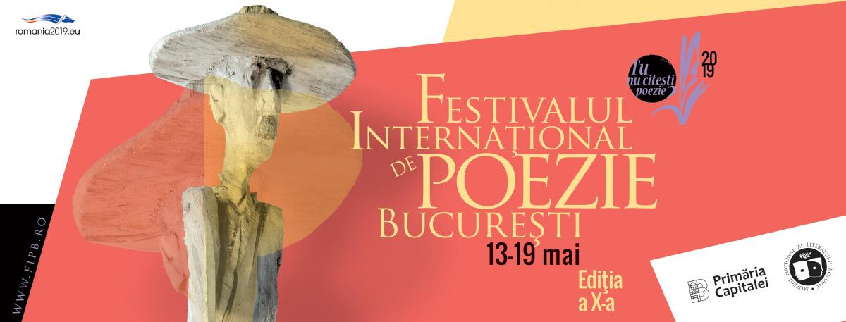 Festivalul Internațional de Poezie de la București afiș