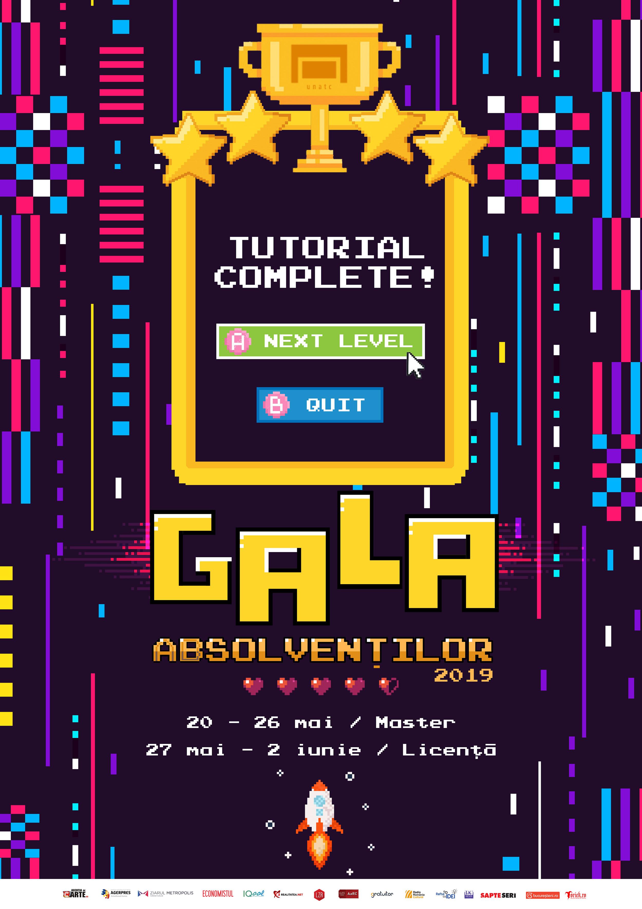 afis Gala Absolvenților UNATC