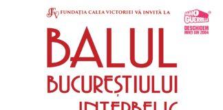 BALUL BUCUREȘTIULUI INTERBELIC revine cu cea de-a VII-a ediție pe 7 iunie