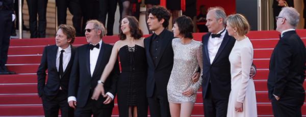 afis Festivalul de film de la Cannes