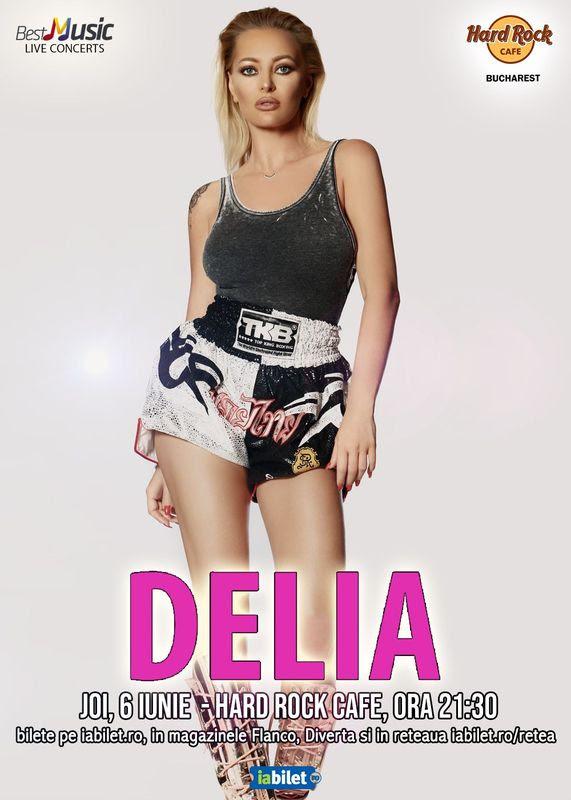 afiș Delia