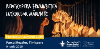 afiș Festivalul Luminii Timișoara 2019