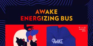 afiș Energizing Party Bus Awake