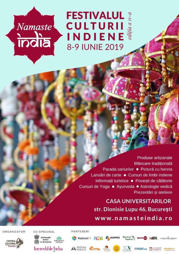 afiș Festivalul Namaste India