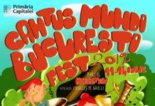 afiș Cantus Mundi București Fest 2019
