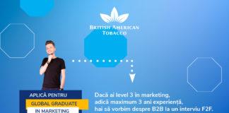 British American Tobacco afis recrutare