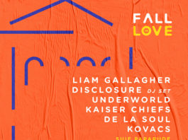 Fall in Love Festival afis