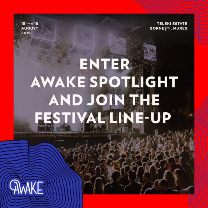 afiș AWAKE Spotlight