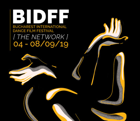 Bucharest International Dance Film Festival-afiș