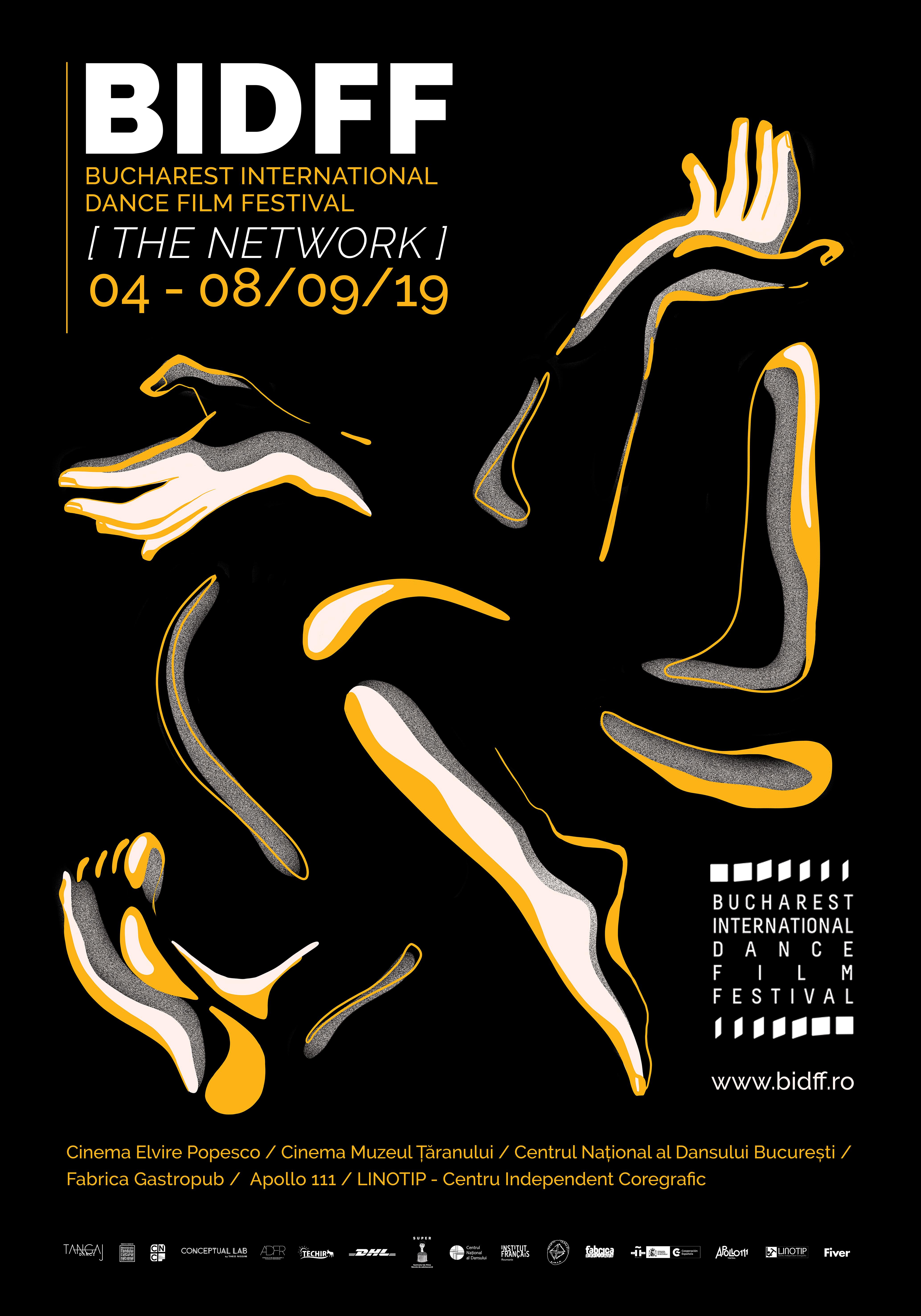 Bucharest International Dance Film Festival-afiș