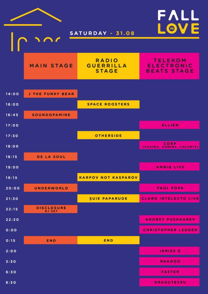 Fall in Love Festival program