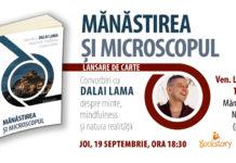 Mănăstirea și microscopul afiș