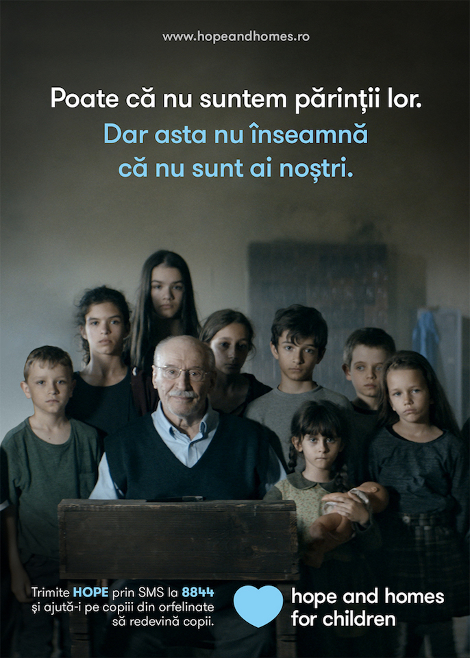 Hope and Homes for Children-afiș
