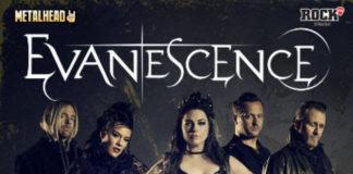 Evanescence concert afis