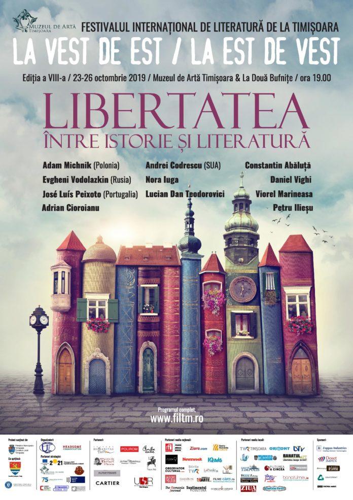 Festivalului Internațional de Literatură de la Timișoara afiș