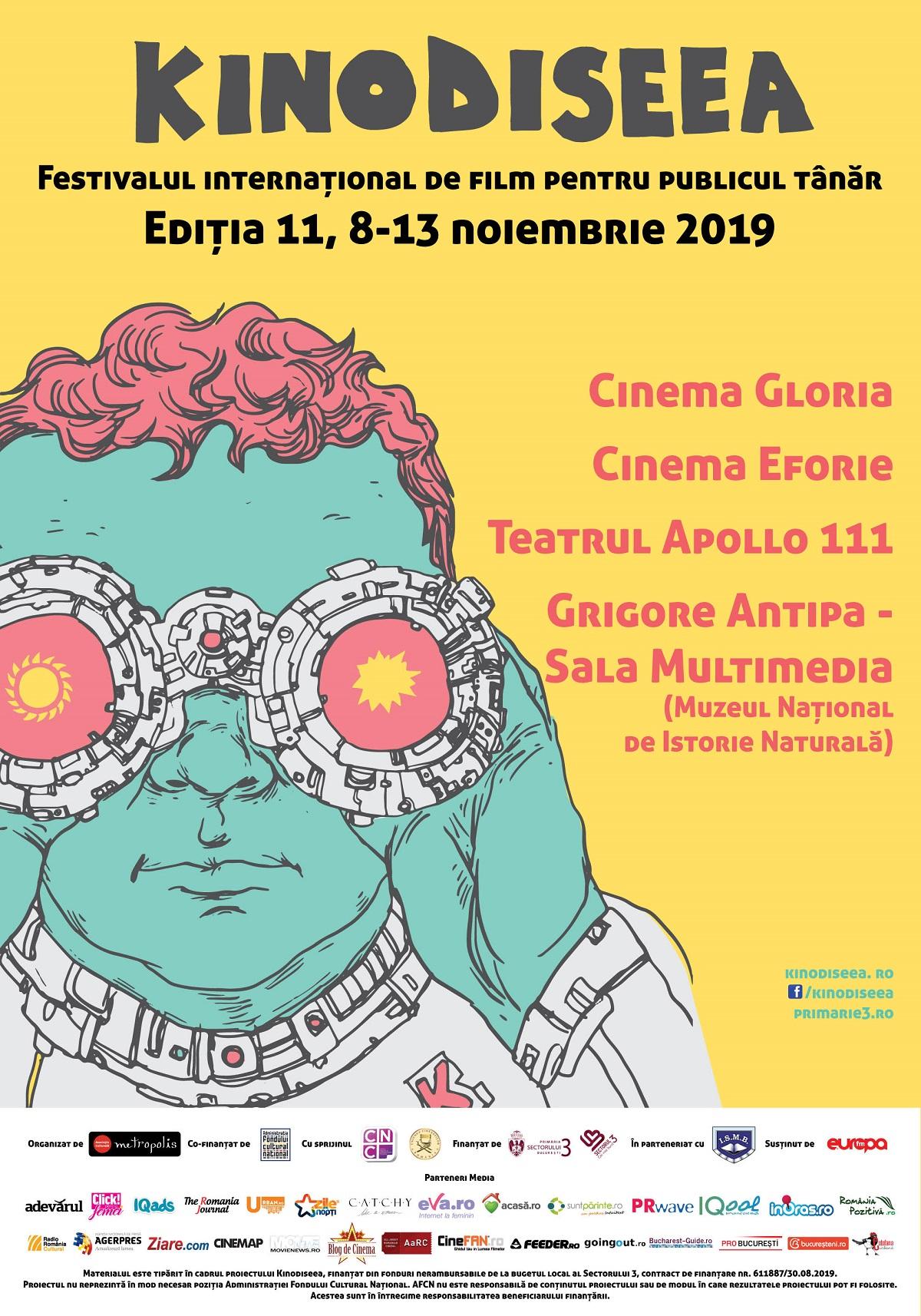 Festivalul Internațional de film KINOdiseea afiș