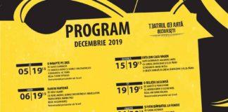 program teatru de arta bucuresti decembrie
