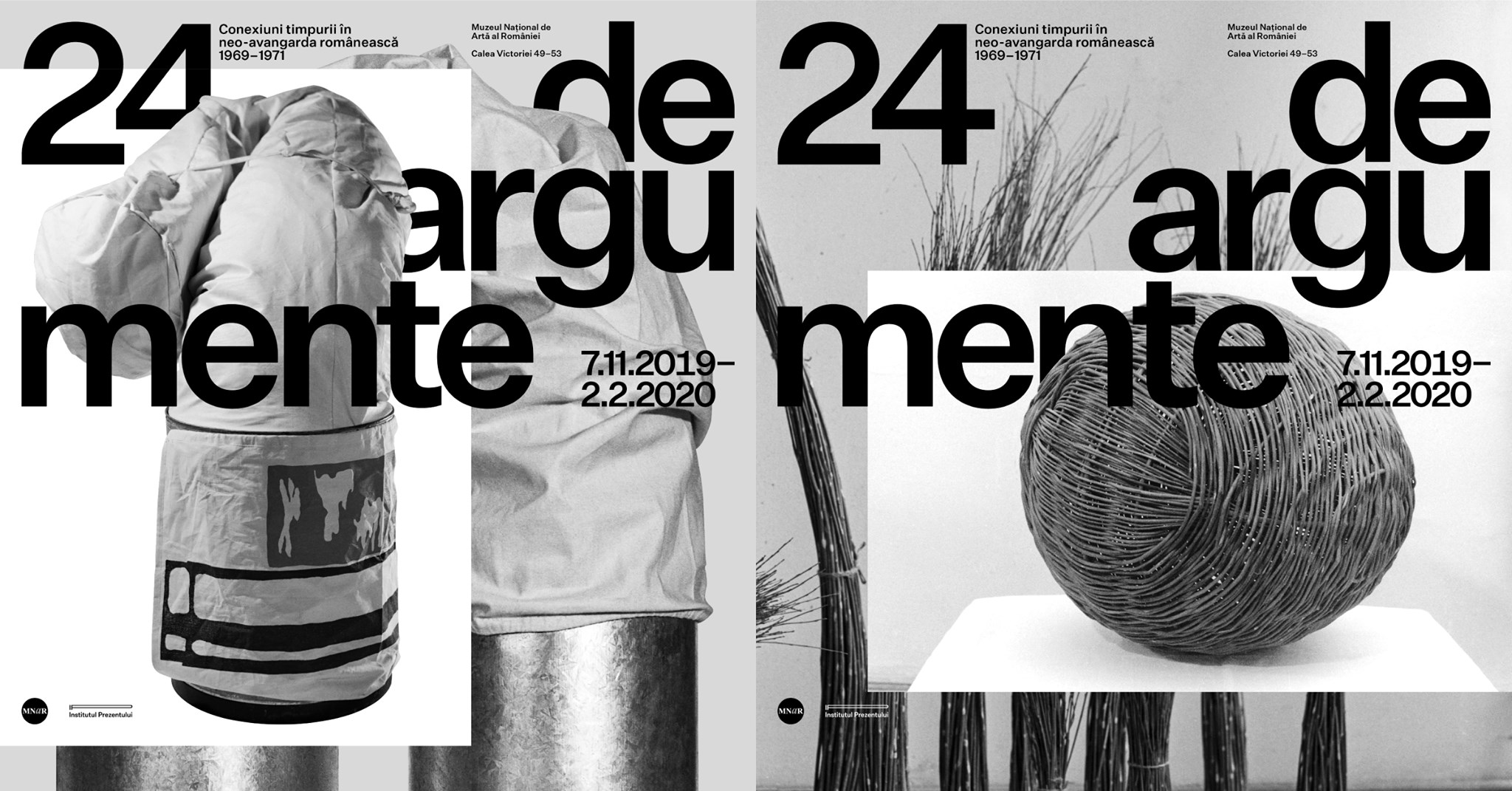 COVER istoria recentă 24 DE ARGUMENTE_MNAR 2019 afiș