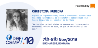 Christina Kubecka DefCamp