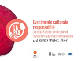 Conferinta Evenimente culturale 27-28 noiembrie 2019