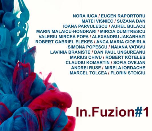 Lansarea volumului InFuzion afiș