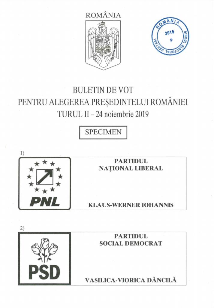 Decide pentru TINEri - buletin de vot