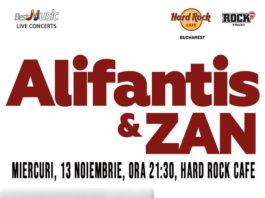 Alifantis & ZAN-afiș