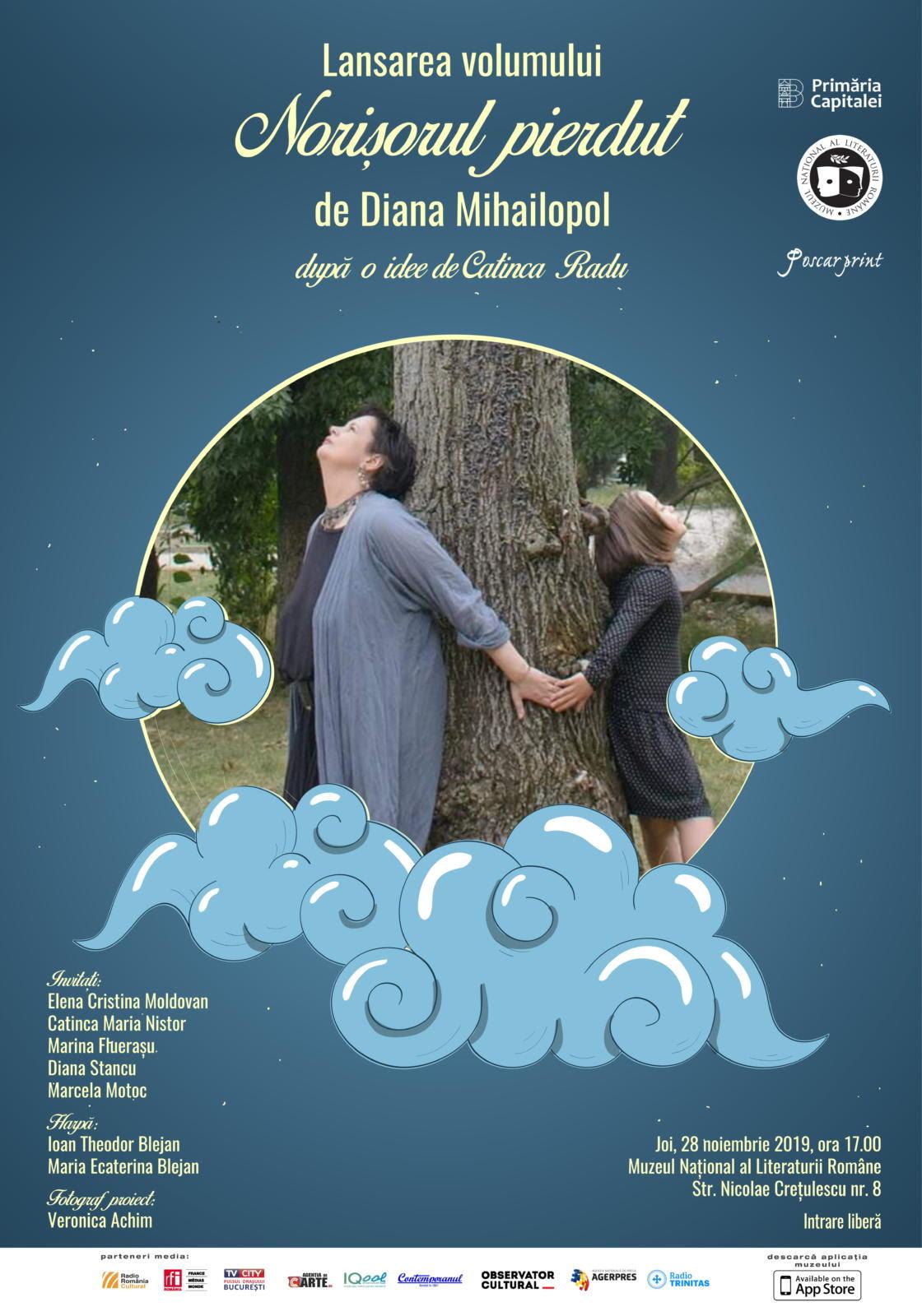 Muzeul Național al Literaturii Române eveniment 7 afiș