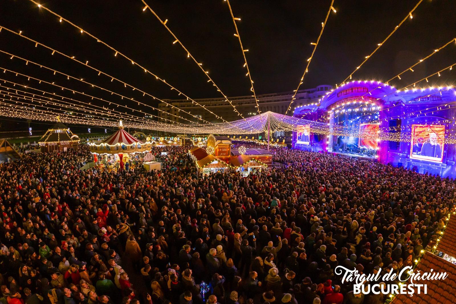1 milion de vizitatori la Târgul de Crăciun din București afis