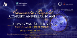 Camerata Regală celebrează 10 ani de existență printr-un concert aniversar