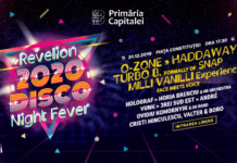 Revelion 2020. Disco Night Fever afis