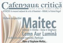 """Ediție specială """"Maitec"""" la Muzeul Național de Artă al României afiș"""