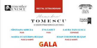 Recital extraordinar Remember Enescu