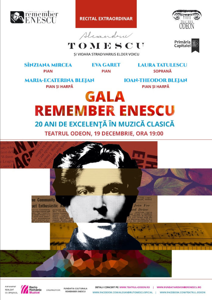 Recital extraordinar Remember Enescu