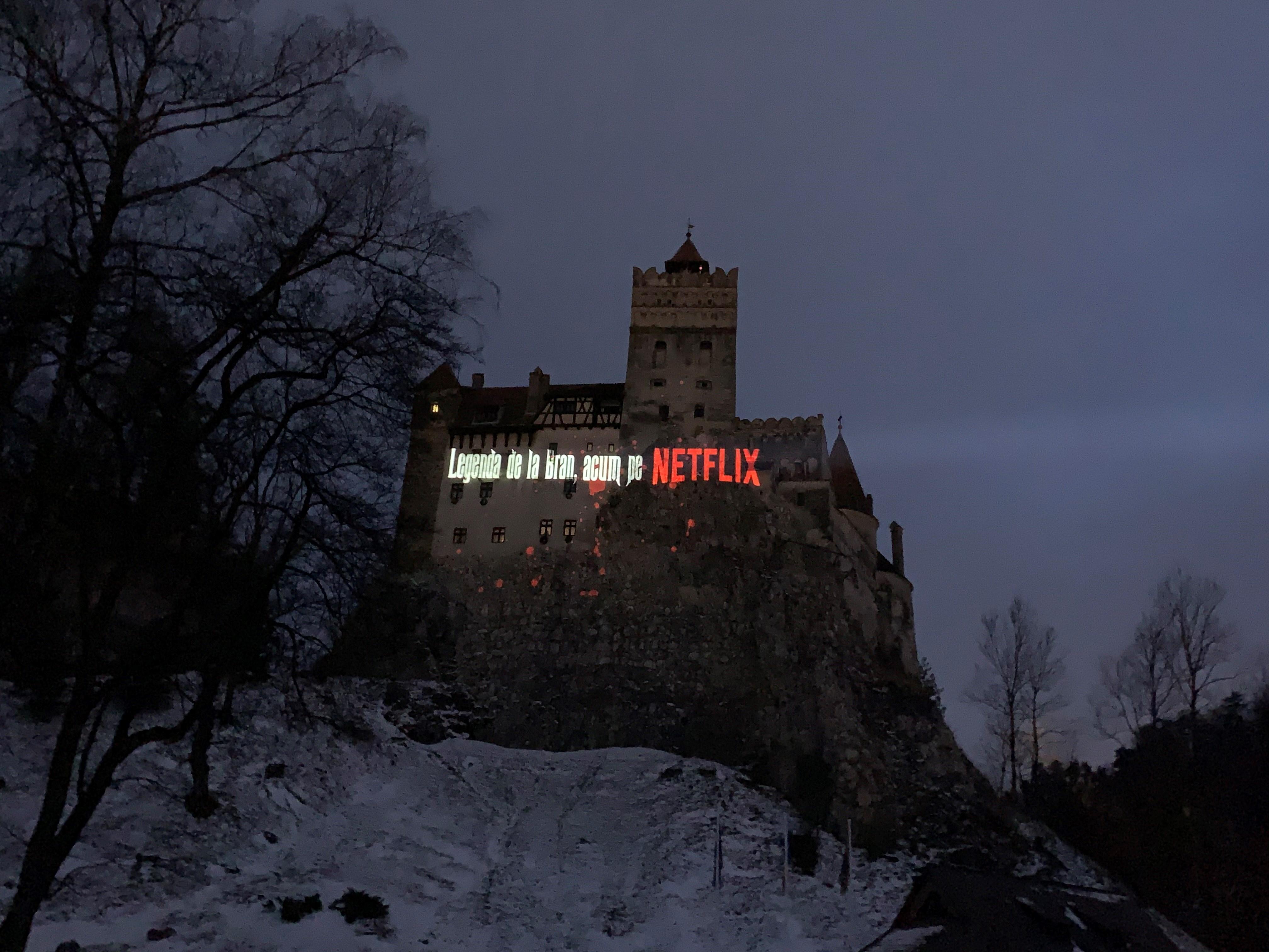 Dracula Netflix_Castelul Bran 2 afiș