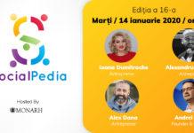 SocialPedia16 afiș