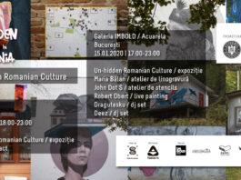 expoziția Un-hidden Romanian Culture afis