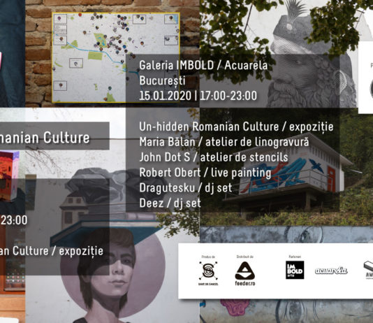 expoziția Un-hidden Romanian Culture afis