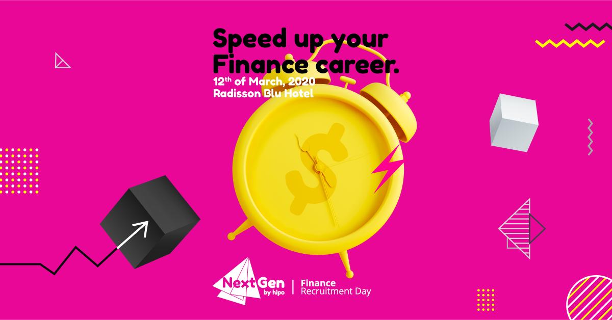 Finance Recruitment Day, afiș