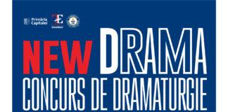 Afis NEW DRAMA VI 2020- concurs de dramaturgie afiș