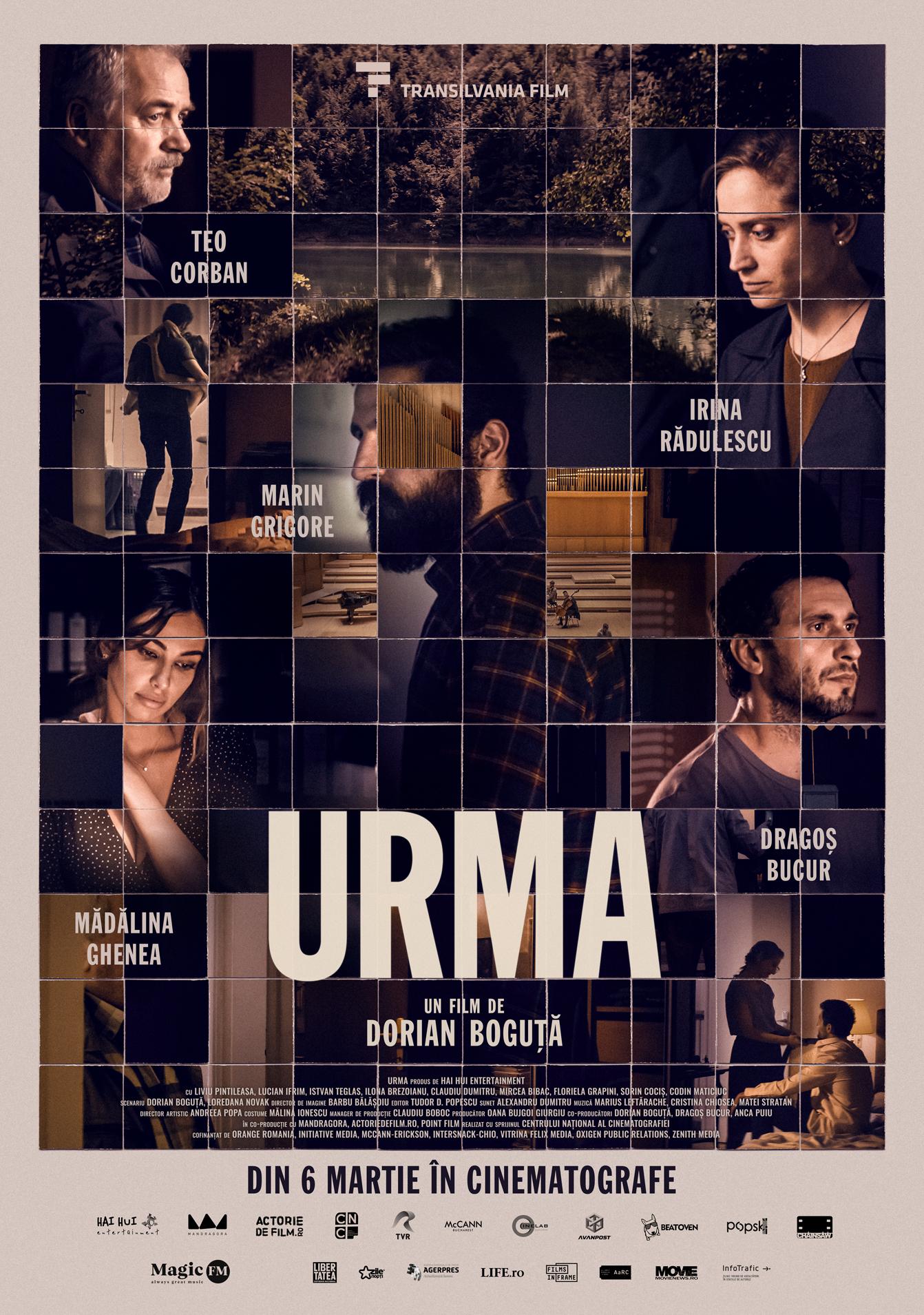 Filmul Urma, afiș