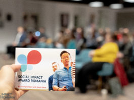 Social Impact Award-afiș