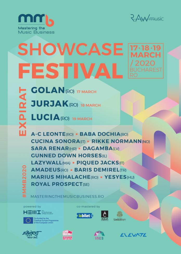 GOLAN, Lucia si Jurjak - headlineri ai MMB Showcase Festival