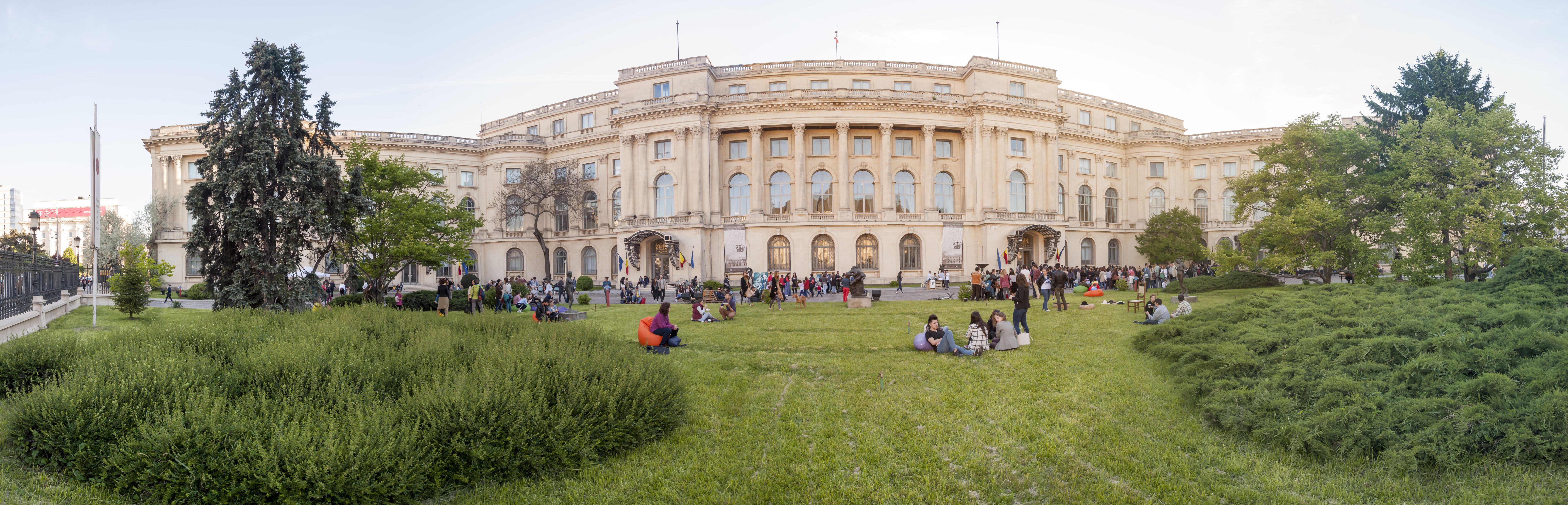 Muzeul National de Artă al României afiș