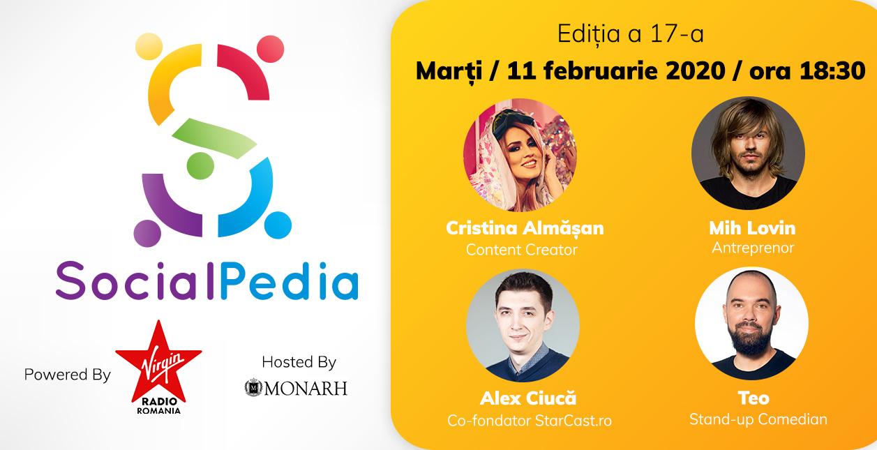 SocialPedia 17 afiș